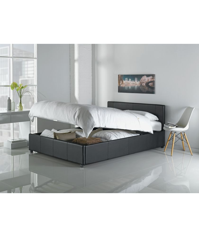 Best Buy Argos Home Lavendon Double End Open Ottoman Bed Frame 400 x 300
