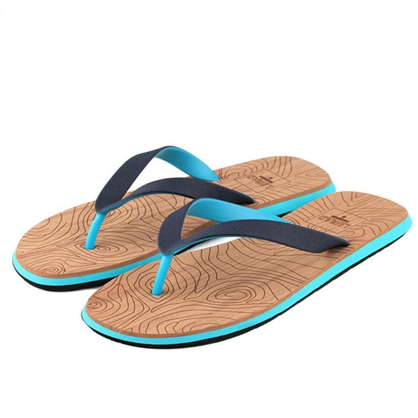 Unisex Fire Football Summer Beach Herringbone Shoes Sandals Slipper Indoor & Outdoor Flip-flops