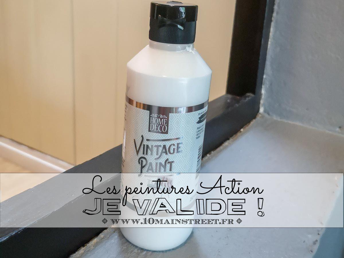 Les Peintures Action Je Valide Deco Action Peinture Acrylique Murale Action
