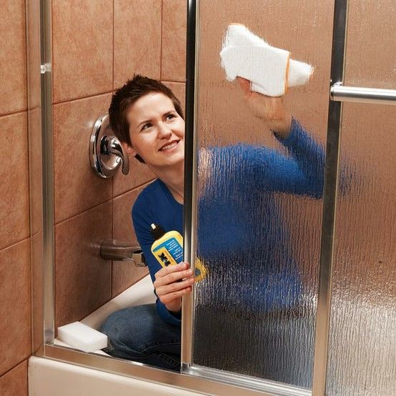 Cleaning Guide How To Clean Your Glass Shower Doors Properly: GENIUS!!! SCUM-PROOF Your Glass Shower Doors By Using