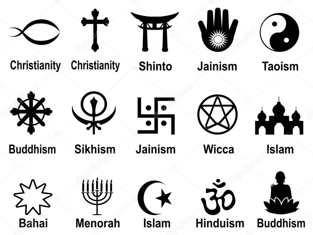 Os Simbolos Religiosos E Seus Significados Simbolos Religiosos