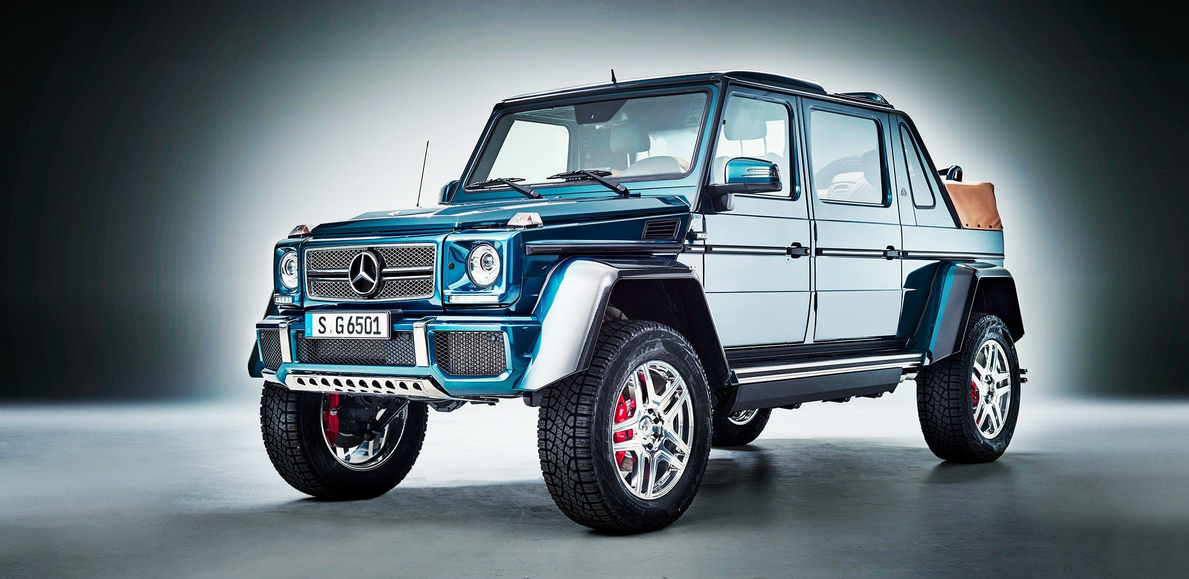 Mercedes Somehow Makes The Ultra Luxe G Wagen Even Swankier