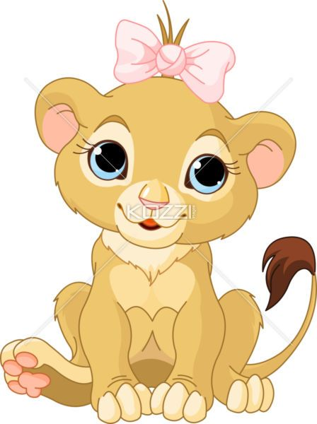 lion girl cub - Royalty Free Image ID 24901574 | Baby shower ...