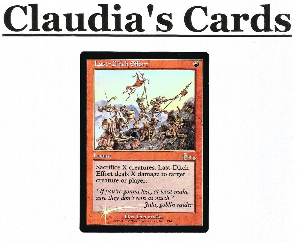 Magic The Gathering ~ 1x Goblin King ~ REVISED ~ M//NM