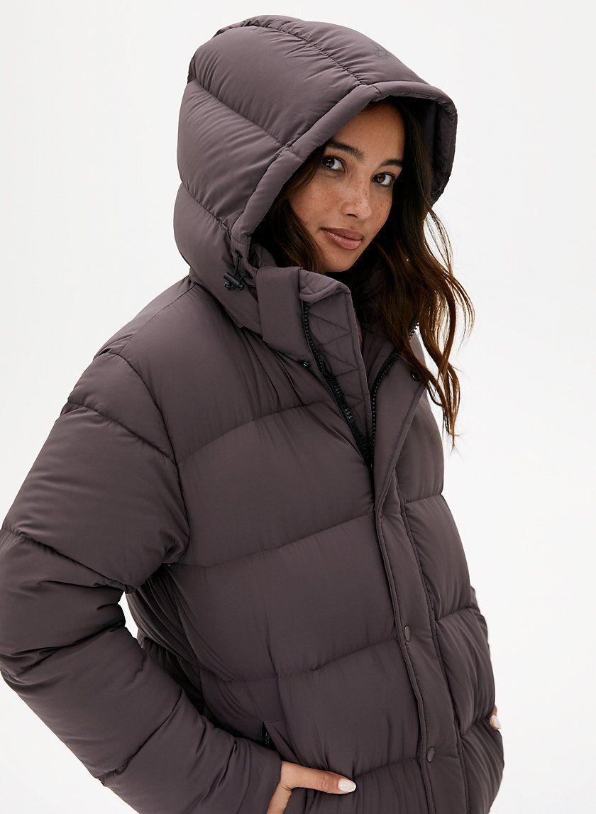 THE SUPER PUFF™ LONG | Puffer jacket women, Puffer jacket