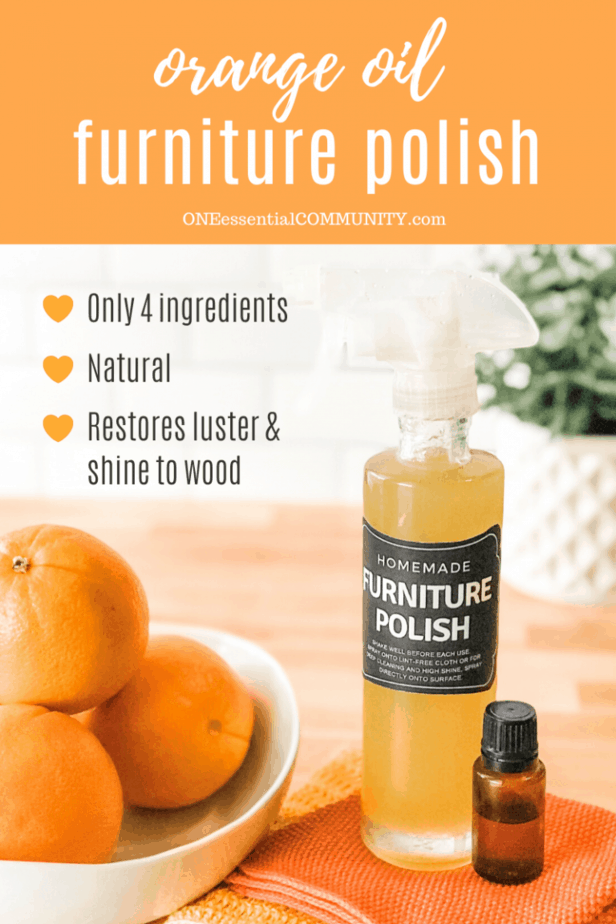 Homemade Furniture Polish Homemade furniture polish, Diy