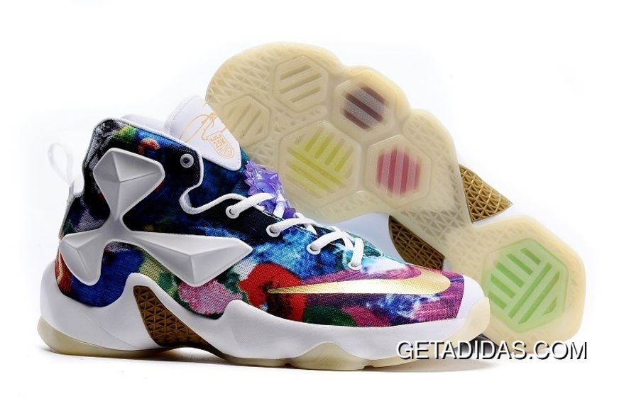 new concept c8519 7eb03 Lebron 13 Id 25K Blue Purple Red Black White Gold TopDeals, Price   87.16 -  Adidas Shoes,Adidas Nmd,Superstar,Originals