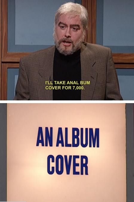 celebrity jeopardy anal bum covers