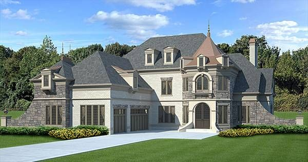 This #French-Country #HousePlan is a best seller! Click here to view