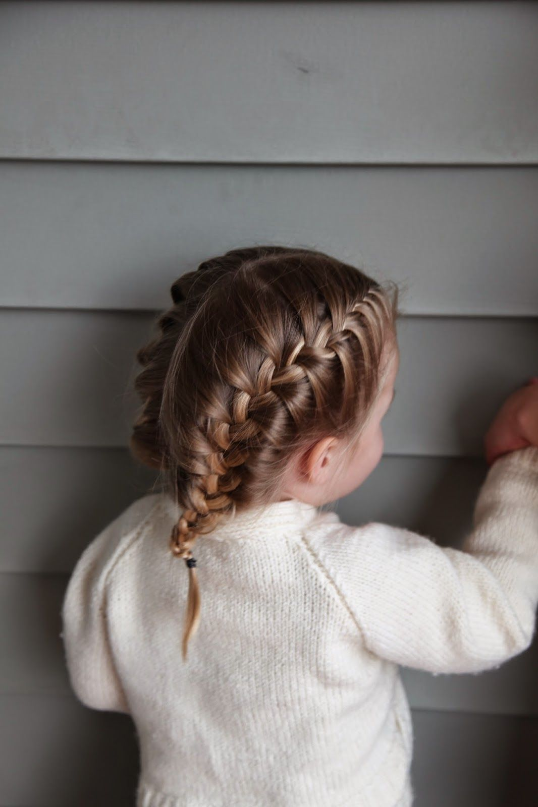 The Classic French Braid Just Start In The Middle Front