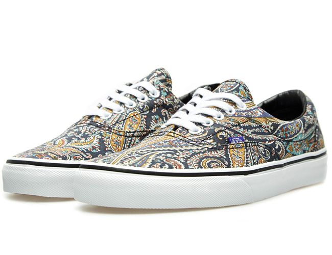 ce959b0ba884e4 Vans x Liberty London Era Grey Paisley