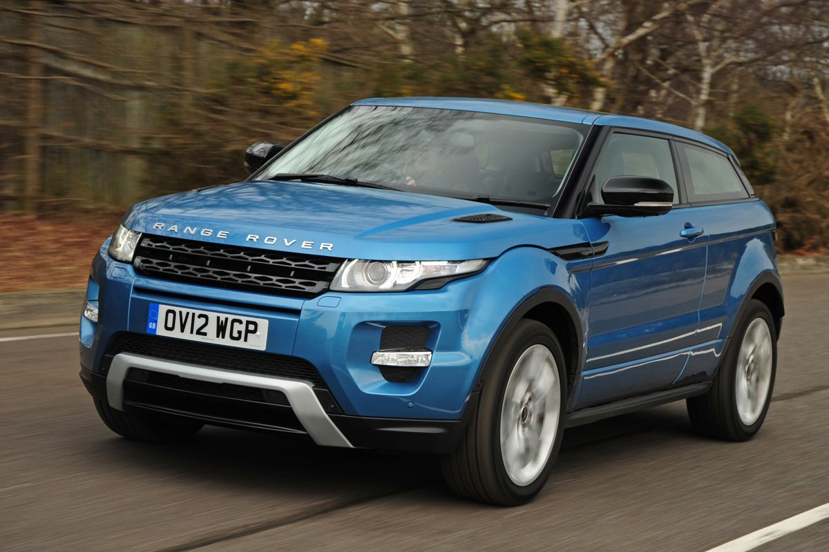 Range rover evoque blue