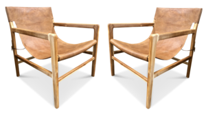 Leather Slingback Chair Leather Chair Chair Dining Chairs