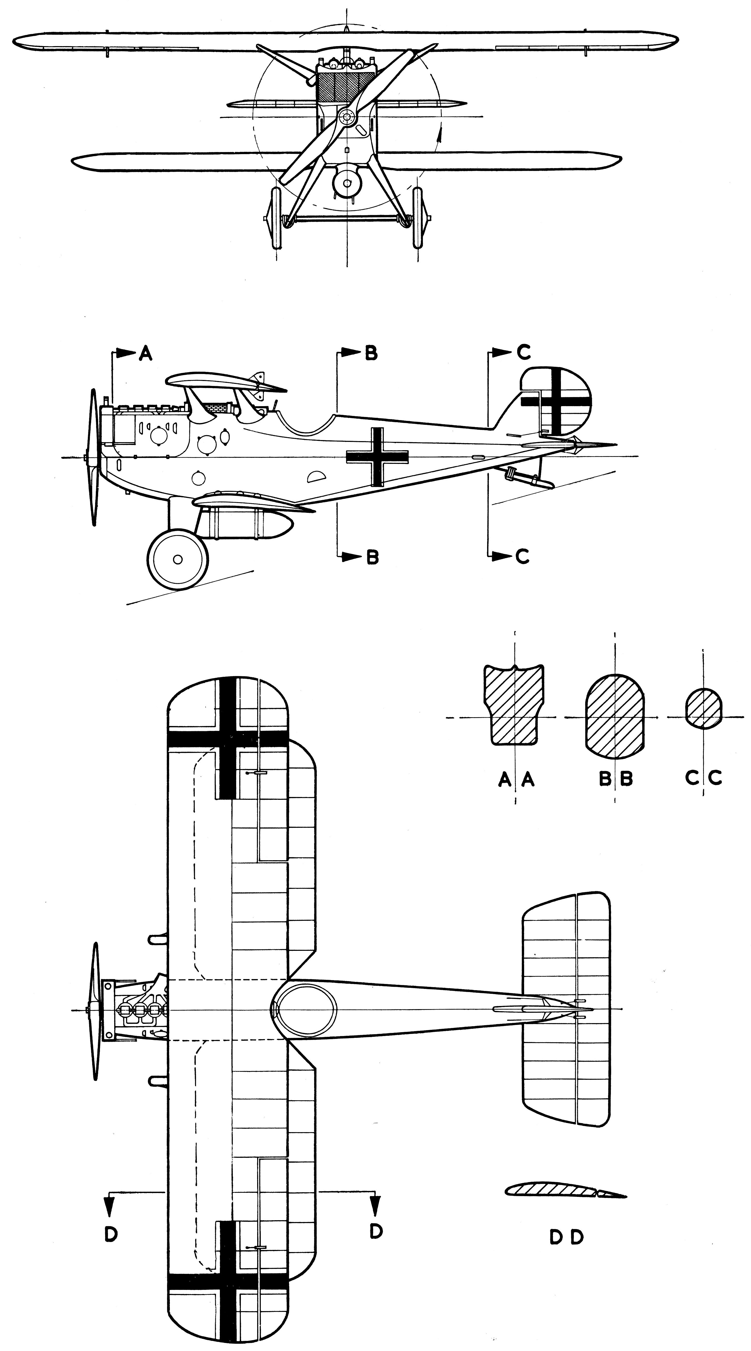 Dornier zeppelin di blueprint blueprints pinterest zeppelin dornier zeppelin di blueprint malvernweather Images