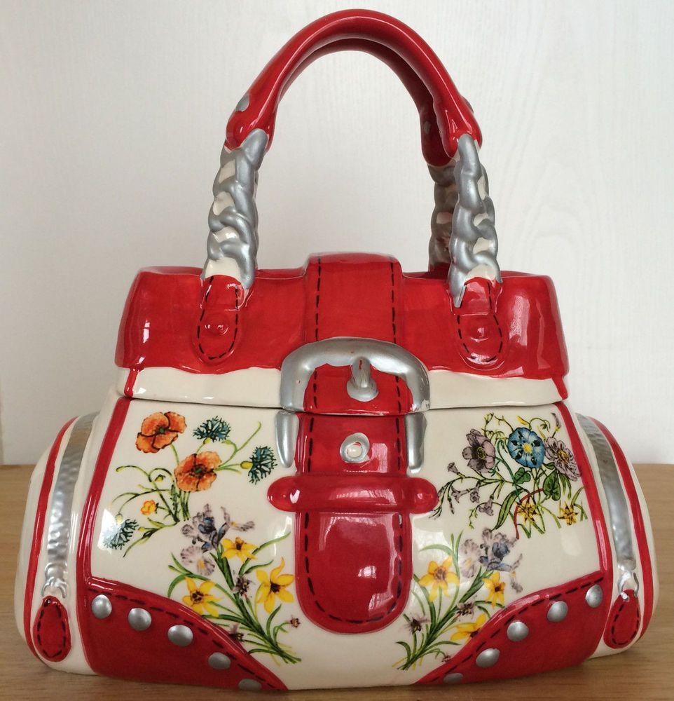 Yuyu Perfect Solutions Handbag Cookie Jar Tote Creative Home Fl Multicolor