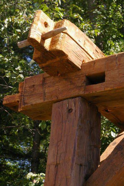 Barn Beam Pergola Rustic Pergola Wood Pergola Barn