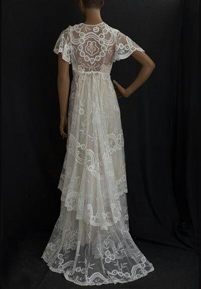 1910 wedding dress   Period - 1920s   Pinterest   Vestido de novia ...