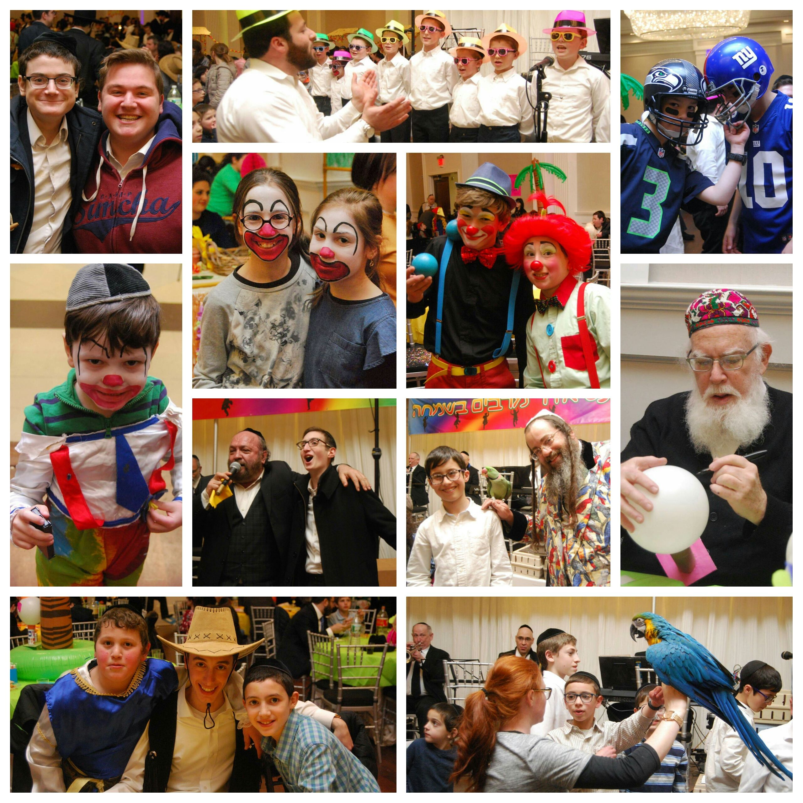 Hundreds of children, families, and volunteers were transported to a tropical island at Chai Lifeline New Jersey's Annual Purim Party at Ateres Reva in Lakewood, NJ. The afternoon featured a performance by the Parrot Rebbi, concert with Yehuda Greeen, incredible crafts with Rabbi Yisroel Braunstein, a choir of Chai Lifeline children and siblings, delicious buffet, fun rides, activities, crafts, and much more. Many thanks to everyone who made this event possible.