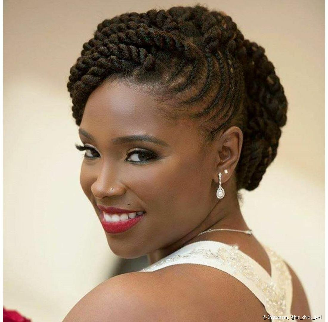 Wedding Hair Style Weave: The Most Gorgeous And Creative Chunky Twist Styles To