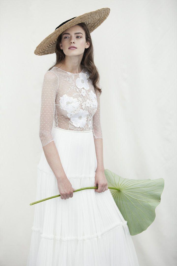 Divine Atelier wedding dresses 2018 | 2018 bridal collection , wedding dress,wedding gown,boho chic wedding dress,romance