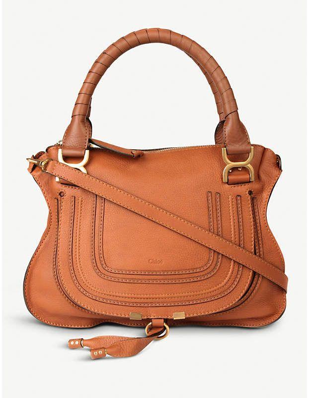 6d2d0ef790c Chloe purse - Marcie medium shoulder bag - Tan Chloe bag | CHLOÈ ...