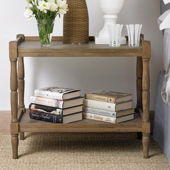 Perfect Radnor Large Sofa Side Table, Weathered Oak