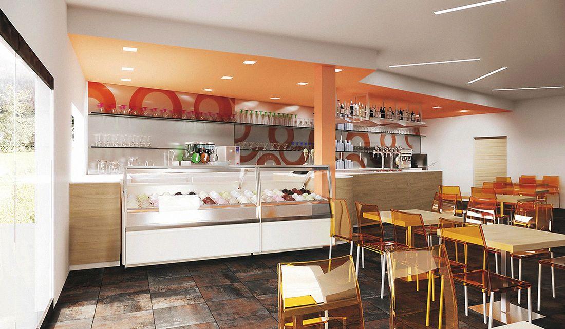 Arredamenti per gelaterie i consigli di gelato for Di paolo arredamenti