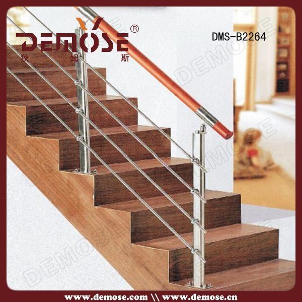 Best 2016 Modern House Indoor Stair Stainless Steel Railings Lowes Stairs Stainless Steel 400 x 300