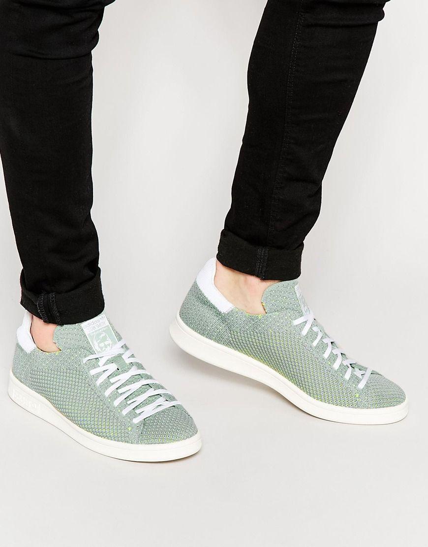 Buy Men Shoes / Adidas Originals Stan Smith Trainers Primeknit