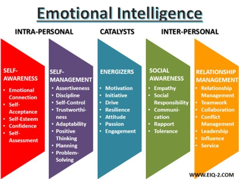 Image result for emotional intelligence educational Theory - leadership self assessment