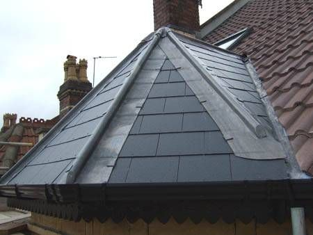 New Eternit Slate Pedement With Lead Hips Call Scott On 07886113418 Call Billy On 07957949616 Hip Roof Slate Roof Roofing