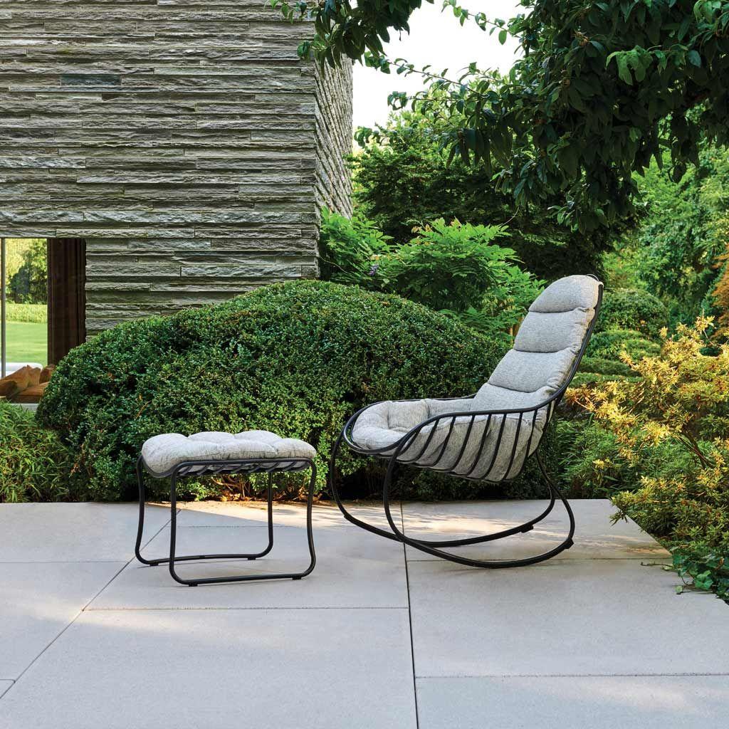 Folia Modern Garden Rocking Chair Luxury Outdoor Rocker In 2020