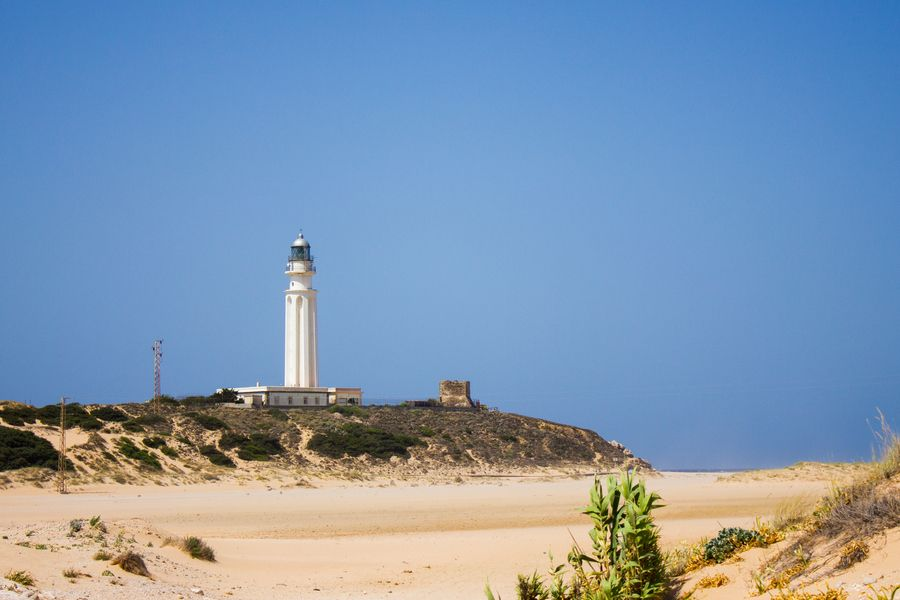 "Foto ""Trafalgar lighthouse""por Jesus Lara (@KreaMalaga) #500px #kmphotos #photos #Trafalgar #Cádiz"