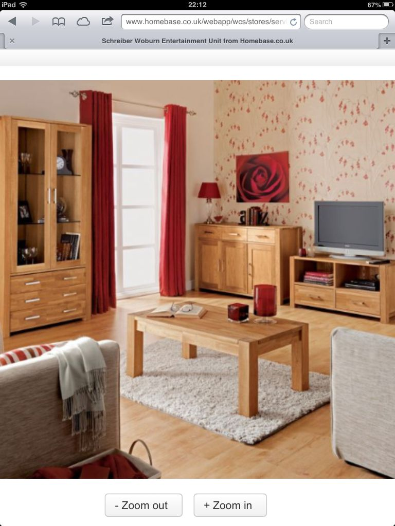 Woburn Solid Oak Living Room Furniture Homebase Hogar