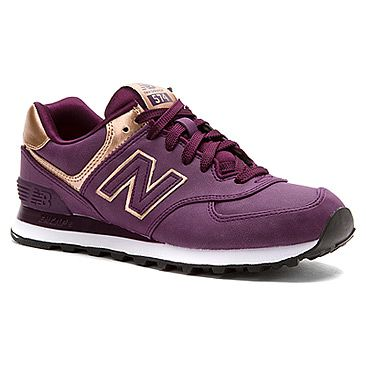 Women's New Balance WL574 Precious Metals Collection in Purple Synthetic.  Nouvel ÉquilibreChaussures De SportJeu ...