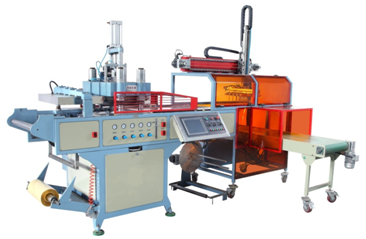 Automatic Plastic Bops Thermoforming Machine Manufacturing Plastic Welding Sme