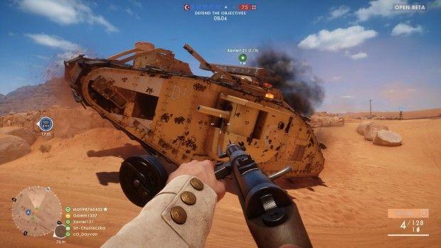 PC-Version der Beta von Battlefield 1 (Screenshots: Golem.de)