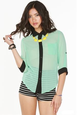 4ff5526a7 blusas elegantes en chifon manga larga - Buscar con Google …   Moda ...