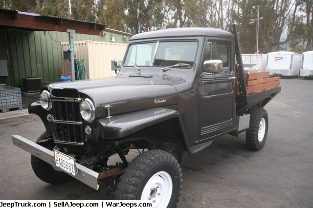 1954 Willys Pickup Diesel Willys Jeep Parts For Sale Jeep Truck