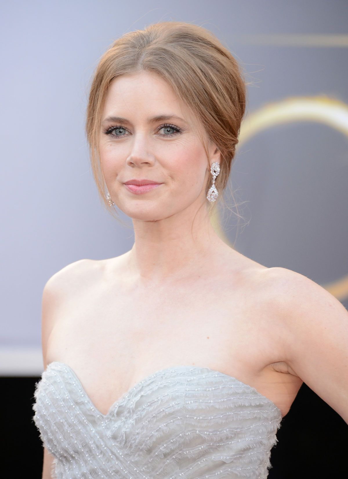 Amy adams some bad root growth but you can see her natural color