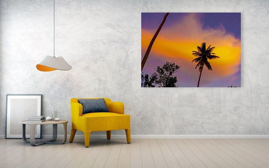 Fiji Palm Tree Acrylic Print By Jeremy Guerin Acrylic Prints America Decor Sale Artwork