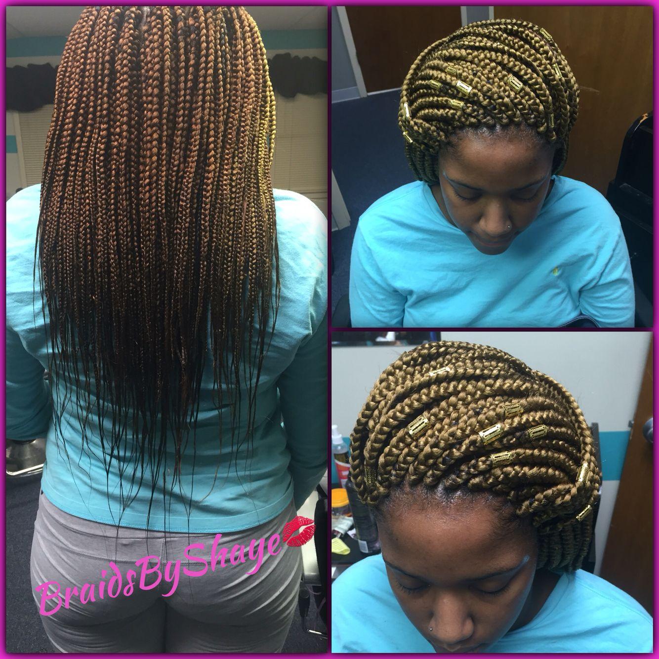 Medium Mid Back Length Box Braids Hair Styles Natural Hair Styles Workout Hairstyles