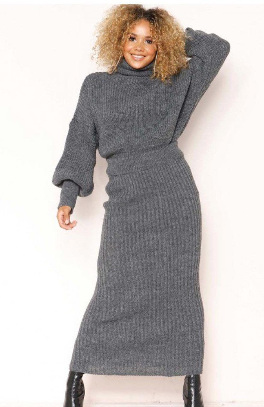 0d2adfdf0a89 61 Latest Fashion Sweater Dress Models - Page 25 of 63