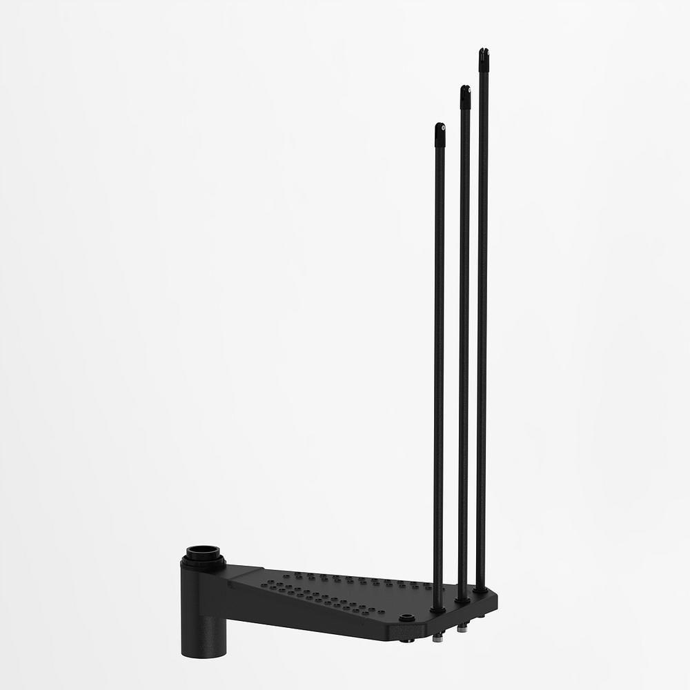 Sky030 Black 55 In Steel Add Riser K24115 Furniture Risers