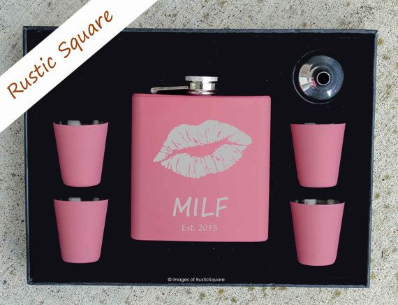 Valentines Day Gift MILF Valentines Gift Mothers by RusticSquare