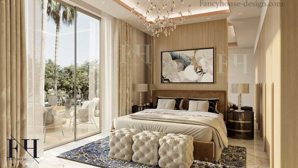 Master Bedroom Interior Design In Dubai Uae Bedroom Designs 2019 In 2020 Master Bedroom Interior Interior Design Bedroom Bedroom Interior