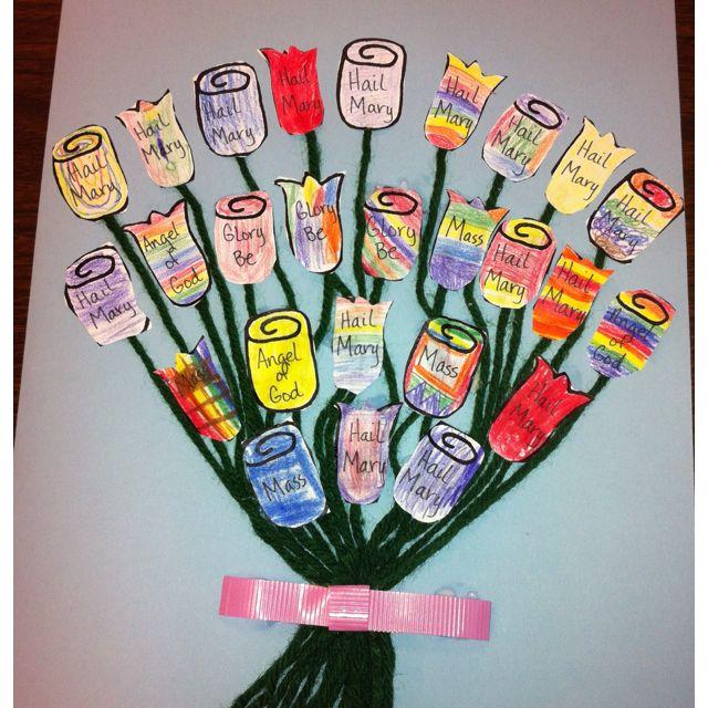 Kindergarten Spiritual Bouquet Little Flowers Girls Club