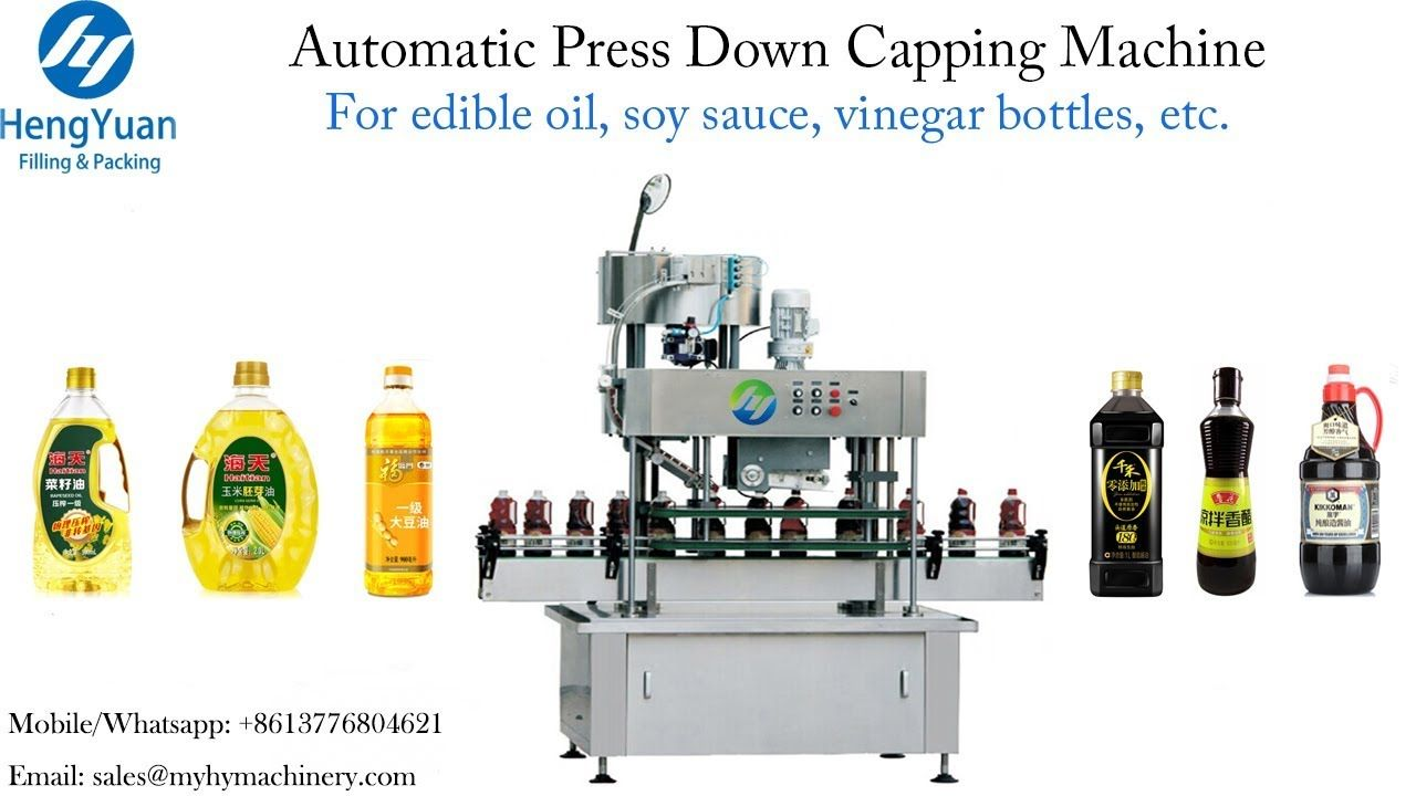Automatic Smart Snap Cap Sealing Machine For Edible Oil Capper Price Edible Oil Oils Oil Bottle