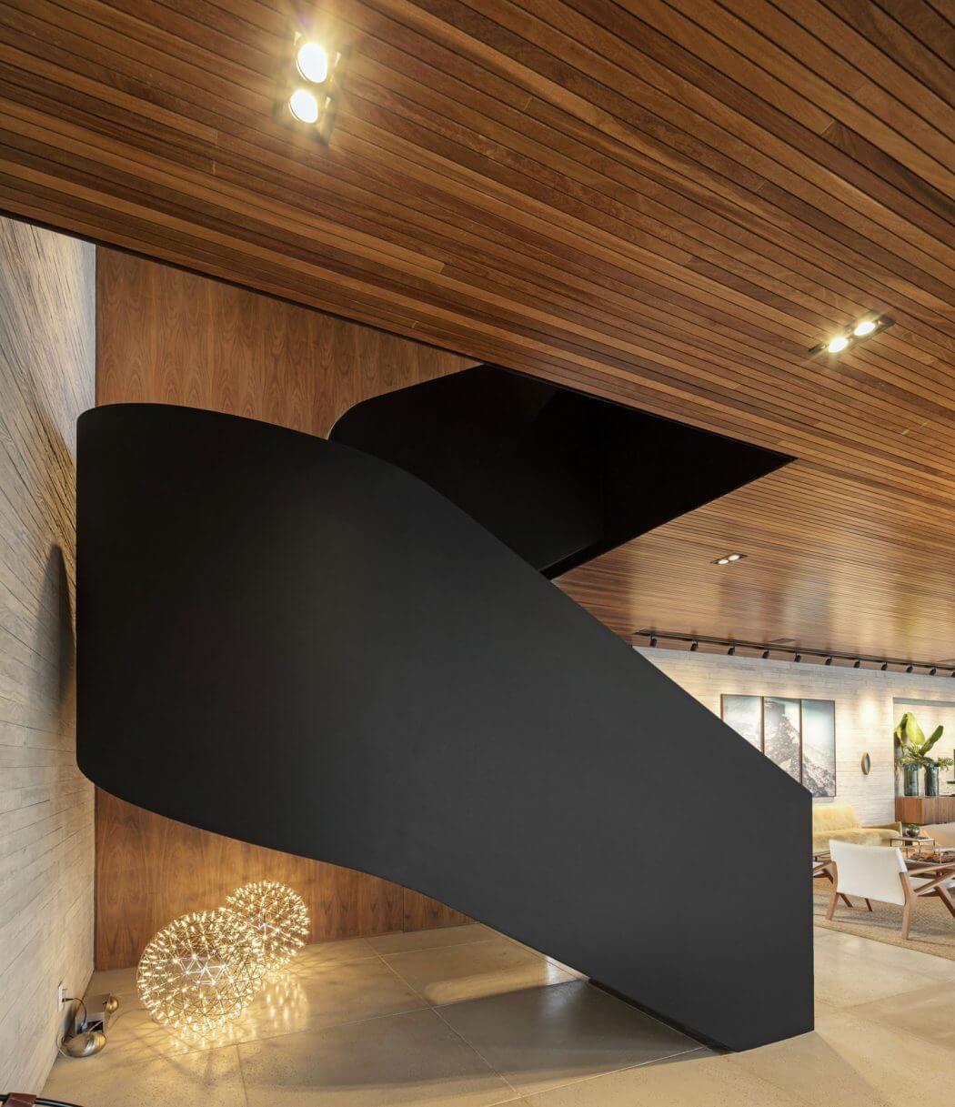 Inspirational Stairs Design: House In Porto Feliz By Fernanda Marques