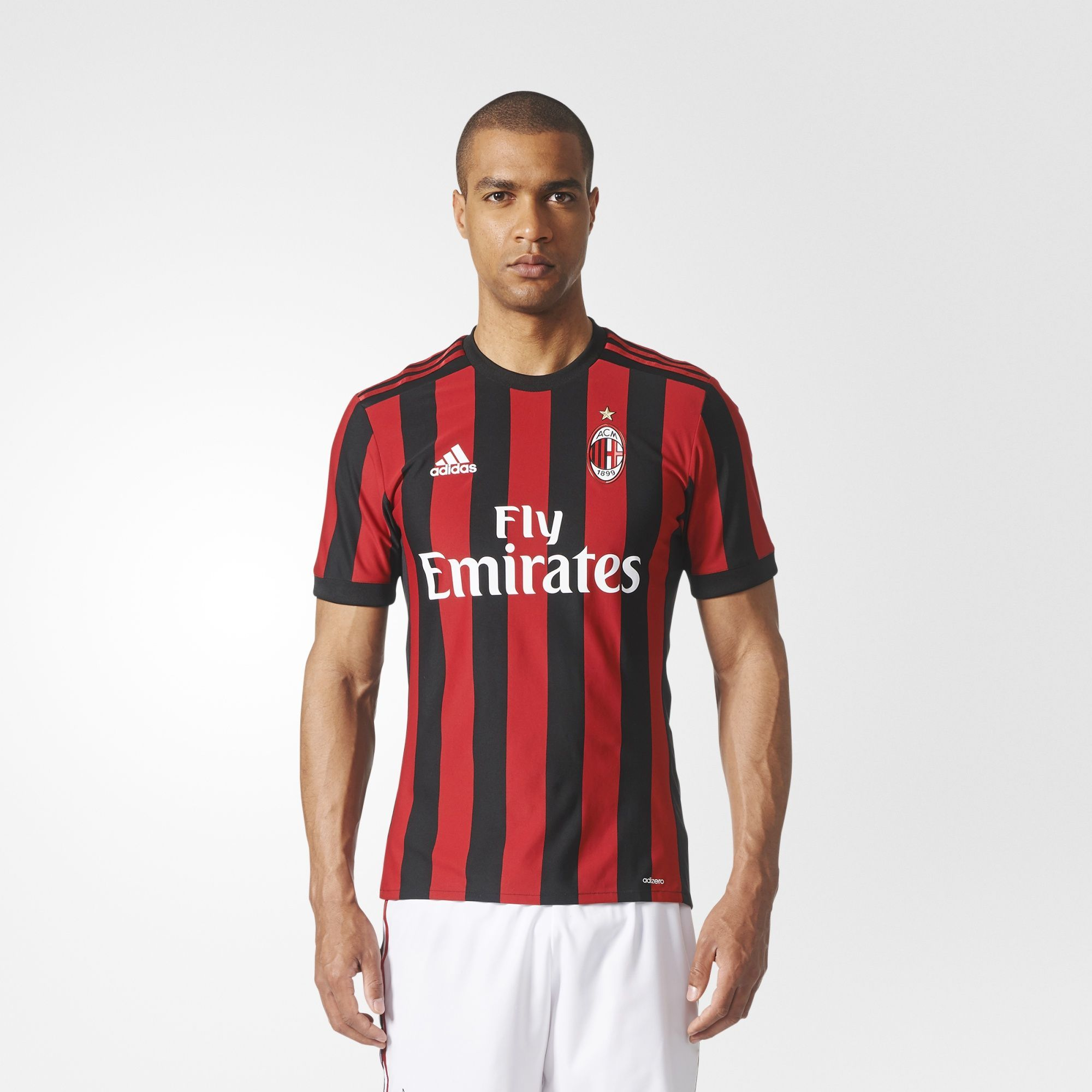 AC Milan 2017-18 Adidas Home Kit | 17/18 Kits | Football shirt